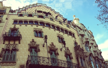 Gaudi on a hangover; still exceptional.