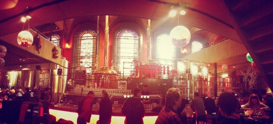 Jopen Brewery in Haarlem - once a church, now a beerhouse. standard.