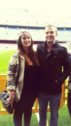 cousins and Camp Nou : a formidable combination