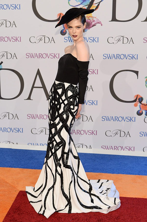coco rocha wearing FASHION