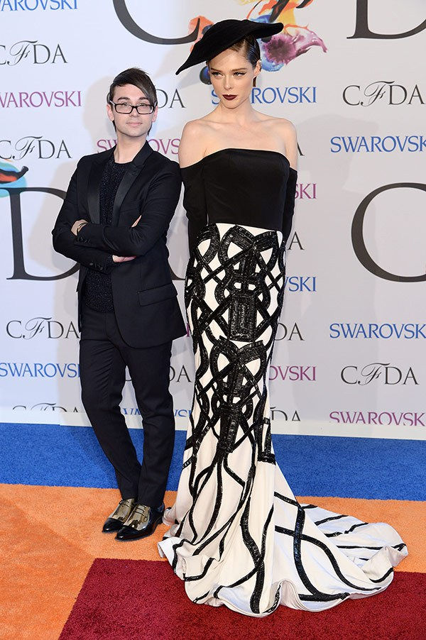 coco-rocha-christian-siriano-2014-cfda-fashion-awards