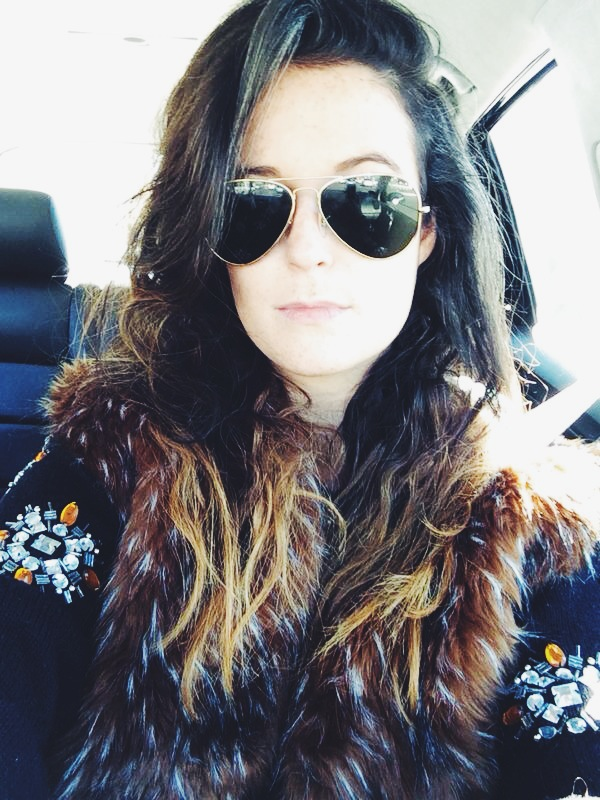 good-hair-day selfie