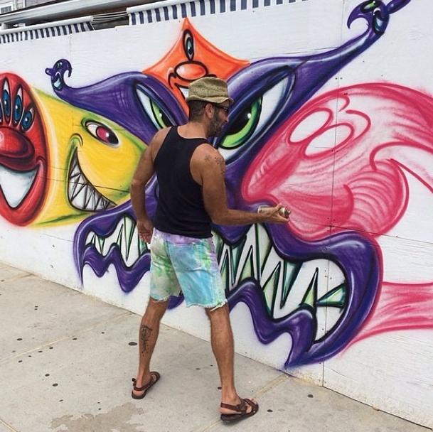 street artist Kenny Scharf for Topshop