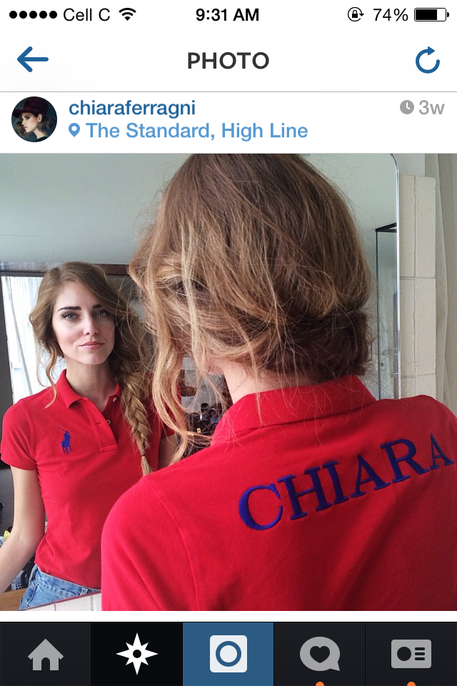blogger Chiara Ferragni of 'The Blonde Salad""